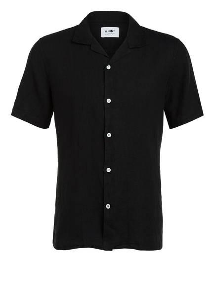 NN07 Resorthemd MYIAGI Regular Fit, Farbe: SCHWARZ (Bild 1)