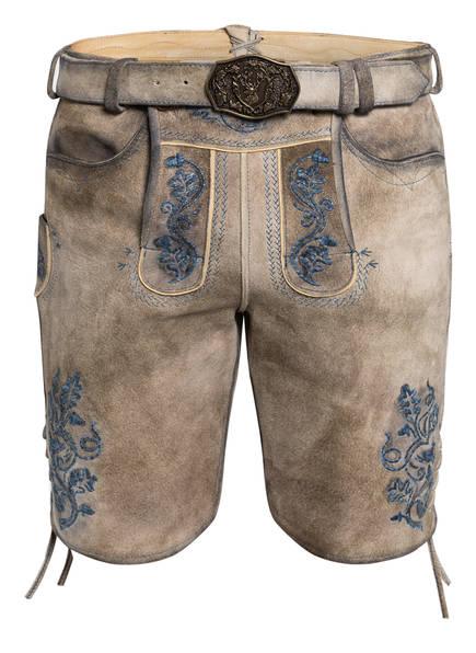 Spieth & Wensky Trachten-Lederhose NADELHOLZ , Farbe: BRAUN (Bild 1)