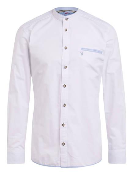 Spieth & Wensky Trachtenhemd NORI, Farbe: WEISS/ BLAU (Bild 1)