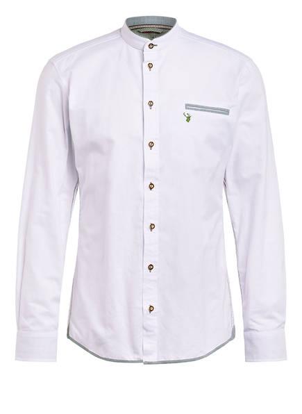 Spieth & Wensky Trachtenhemd NORI, Farbe: WEISS/ GRÜN (Bild 1)