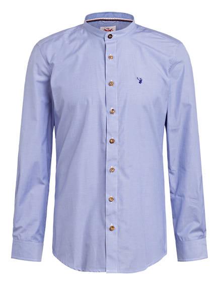 Spieth & Wensky Trachtenhemd NEO, Farbe: BLAU/ WEISS GESTREIFT (Bild 1)