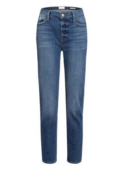 FRAME DENIM 7/8-Jeans LE HIGH STRAIGHT, Farbe: SLNA SOLANA BLUE (Bild 1)