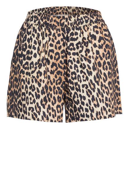 GANNI Shorts, Farbe: BEIGE/ HELLBRAUN/ SCHWARZ (Bild 1)