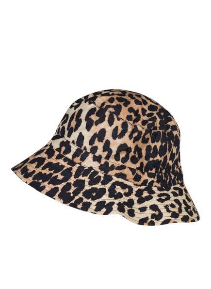 GANNI Bucket-Hat, Farbe: BEIGE/ SCHWARZ (Bild 1)