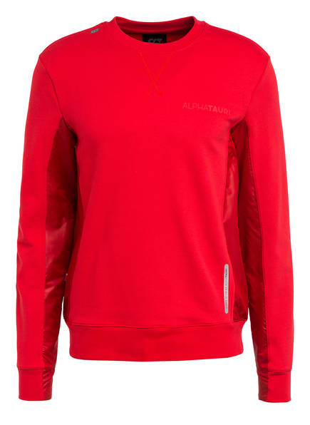 ALPHATAURI Hybrid-Sweatshirt SIMPO V1.Y4.01, Farbe: ROT (Bild 1)