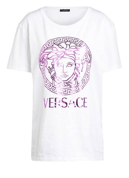 VERSACE T-Shirt, Farbe: WEISS/ LILA (Bild 1)