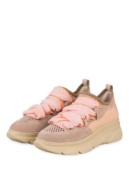 181 Plateau-Sneaker ANET, Farbe: BEIGE/ NUDE (Bild 1)