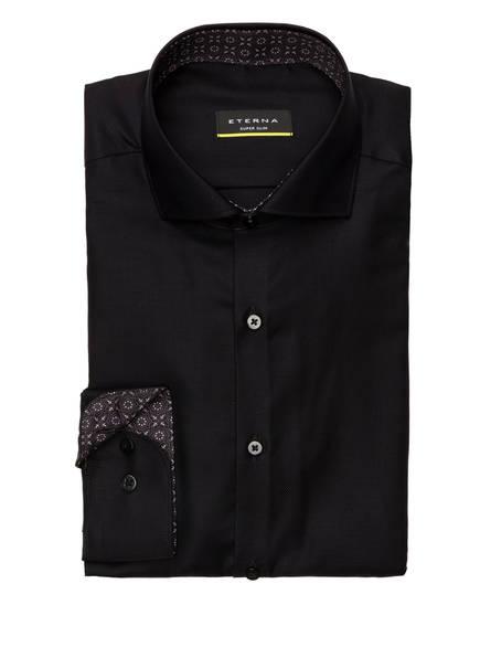 ETERNA Hemd Super Slim Fit, Farbe: SCHWARZ (Bild 1)