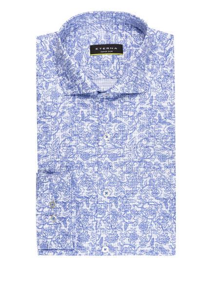 ETERNA Hemd Super Slim Fit, Farbe: BLAU/ WEISS (Bild 1)