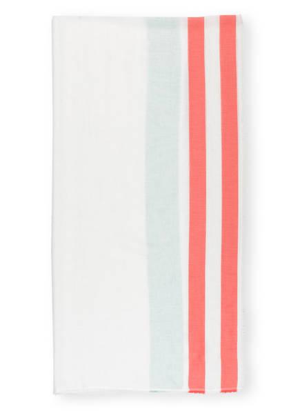 darling harbour Schal, Farbe: WEISS/ ROT/ MINT (Bild 1)