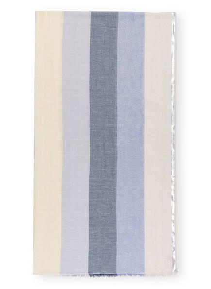 BECKSÖNDERGAARD Schal, Farbe: GELB/ BLAU/ SILBER (Bild 1)