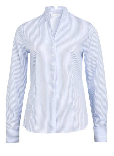 ETERNA Bluse, Farbe: HELLBLAU/ WEISS GESTREIFT (Bild 1)