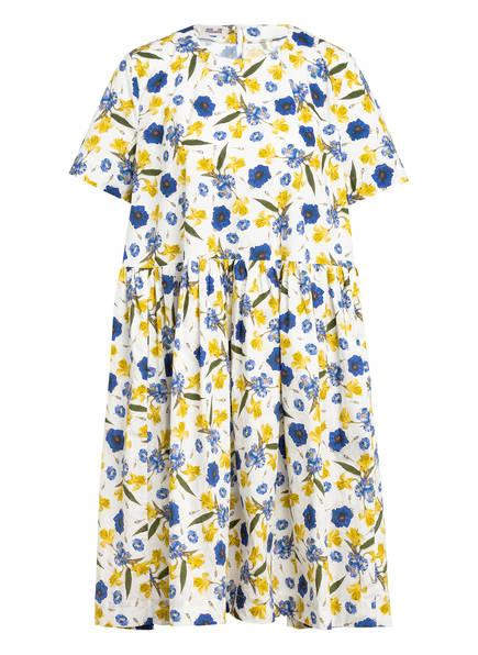 BAUM UND PFERDGARTEN Kleid ARETHA, Farbe: WEISS/ BLAU/ GRÜN (Bild 1)