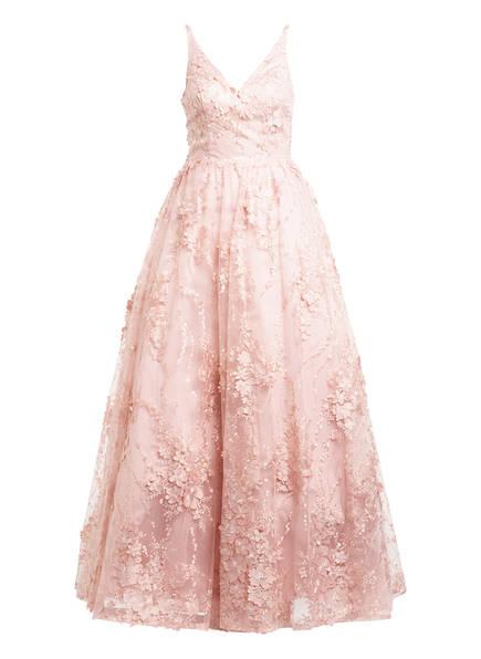 unique Abendkleid MAJESTIC GOWN mit Stola, Farbe: ROSE (Bild 1)