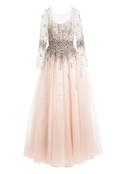 unique Abendkleid mit Stola, Farbe: ROSE (Bild 1)