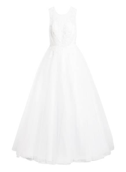unique Brautkleid mit Stola, Farbe: WEISS (Bild 1)