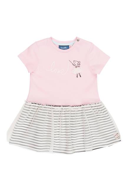 Sanetta KIDSWEAR Kleid, Farbe: ROSA/ CREME/ SCHWARZ (Bild 1)