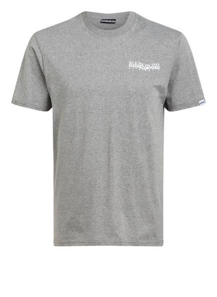 NAPAPIJRI T-Shirt SOLE, Farbe: GRAU MELIERT (Bild 1)