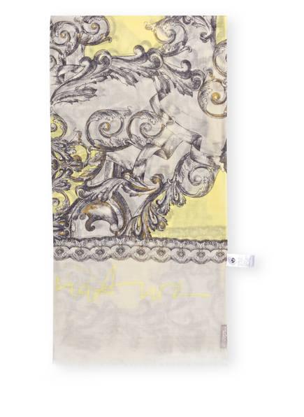 FRAAS Schal , Farbe: HELLGRAU/ GELB (Bild 1)
