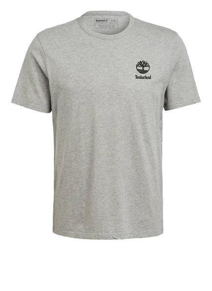 Timberland T-Shirt, Farbe: GRAU MELIERT/ SCHWARZ (Bild 1)