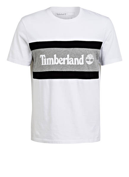 Timberland T-Shirt, Farbe: WEISS/ GRAU/ BLAU (Bild 1)