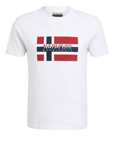 NAPAPIJRI T-Shirt SOVICO, Farbe: WEISS (Bild 1)