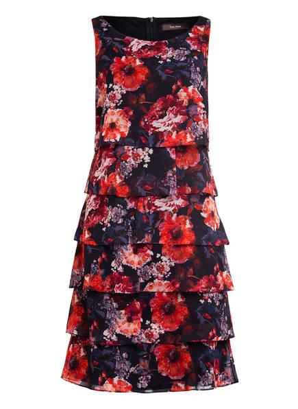 Vera Mont Kleid, Farbe: DUNKELBLAU/ ORANGE (Bild 1)