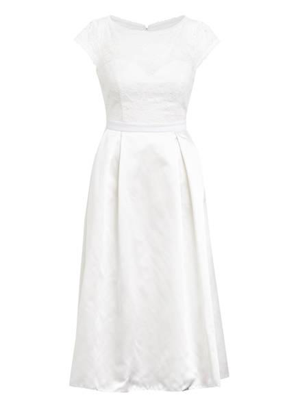 VM VERA MONT Brautkleid mit Spitzenbesatz, Farbe: WEISS (Bild 1)
