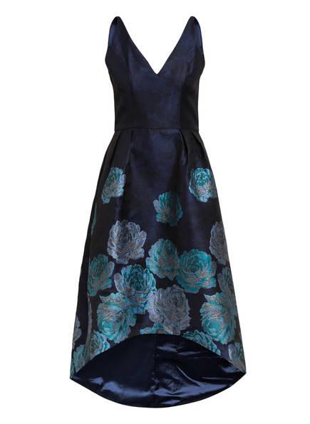 Chi Chi LONDON Abendkleid aus Jacquard, Farbe: DUNKELBLAU/ HELLBLAU/ TÜRKIS (Bild 1)