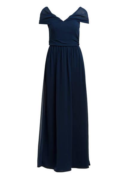 Chi Chi LONDON Off-Shoulder-Kleid LAINE, Farbe: DUNKELBLAU (Bild 1)