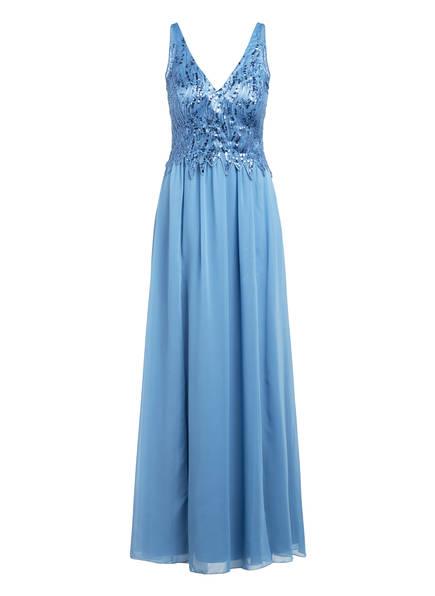 Suddenly Princess Abendkleid mit Paillettenbesatz, Farbe: BLAU (Bild 1)