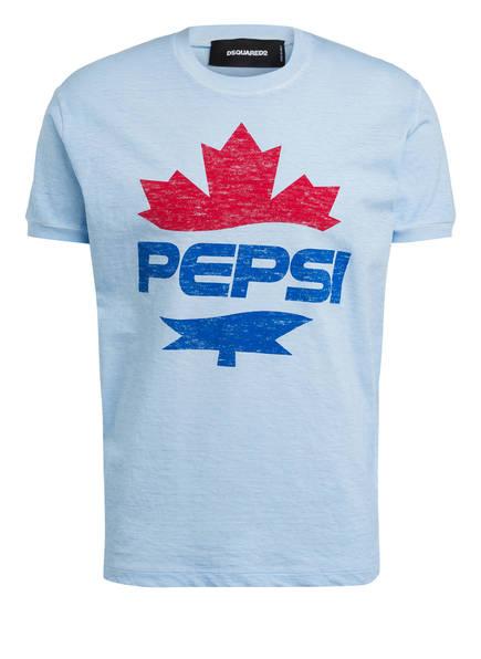 DSQUARED2 T-Shirt, Farbe: HELLBLAU (Bild 1)