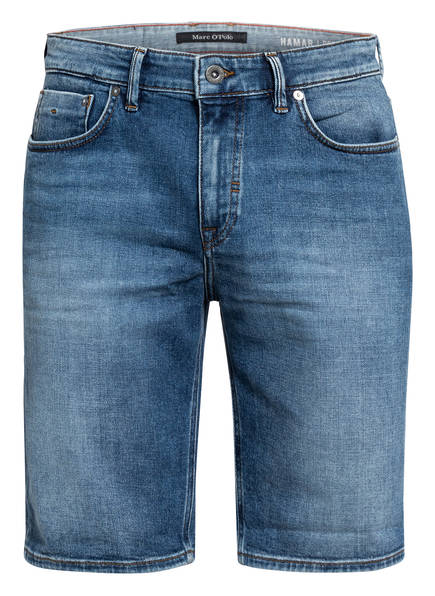 Marc O'Polo Jeans-Shorts HAMAR Regular Fit, Farbe: 043 MID BLUE WASH (Bild 1)