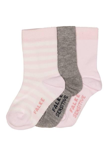 FALKE 3er-Pack Socken SENSITIVE, Farbe: 0010 SORTIMENT (Bild 1)