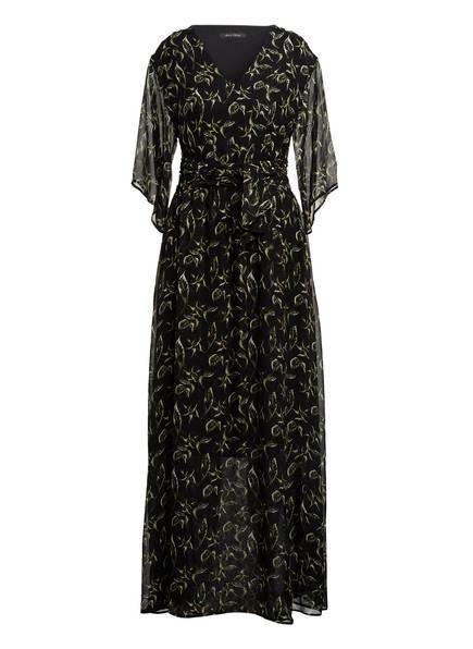 Marc O'Polo Kleid mit 3/4-Arm, Farbe: SCHWARZ/ GRÜN (Bild 1)