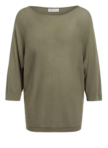 rich&royal Pullover mit 3/4-Arm, Farbe: OLIV (Bild 1)