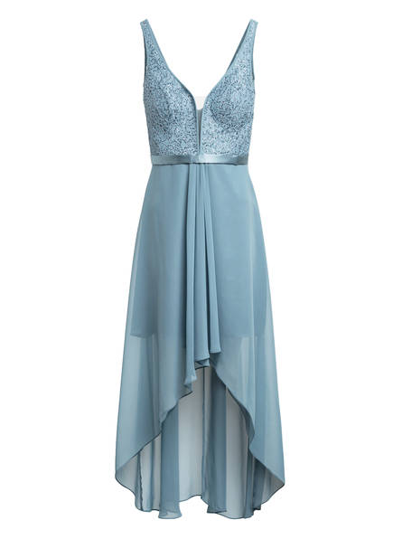 VM VERA MONT Abendkleid mit Paillettenbesatz, Farbe: BLAUGRAU (Bild 1)