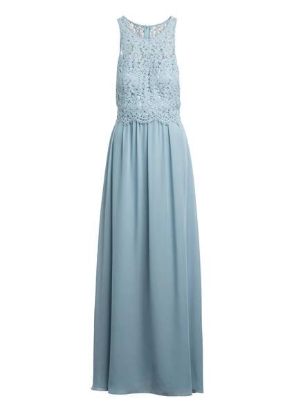 VM VERA MONT Abendkleid mit Spitzenbesatz, Farbe: BLAUGRAU (Bild 1)