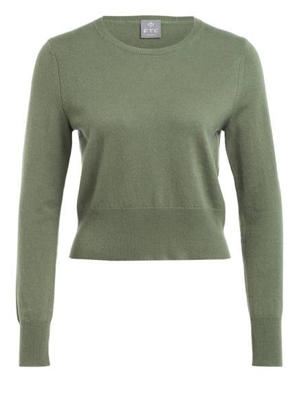 FTC CASHMERE Cashmere-Pullover, Farbe: OLIV (Bild 1)