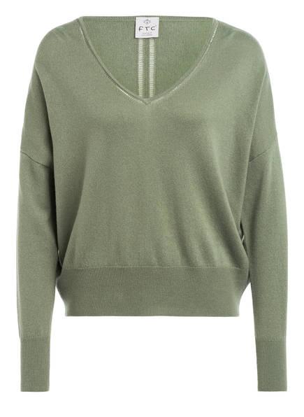 FTC CASHMERE Pullover mit Cashmere, Farbe: OLIV (Bild 1)