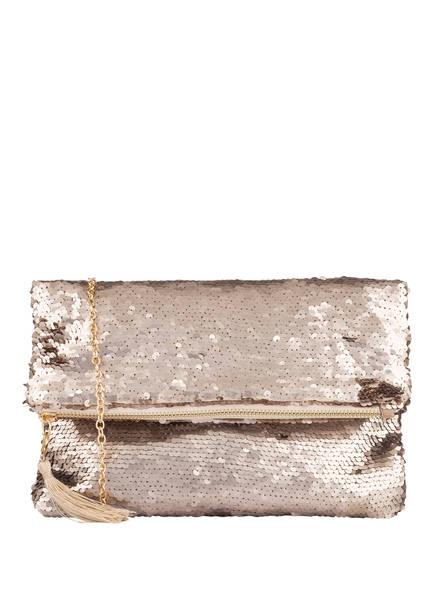 Vera Mont Clutch mit Paillettenbesatz , Farbe: GOLD (Bild 1)