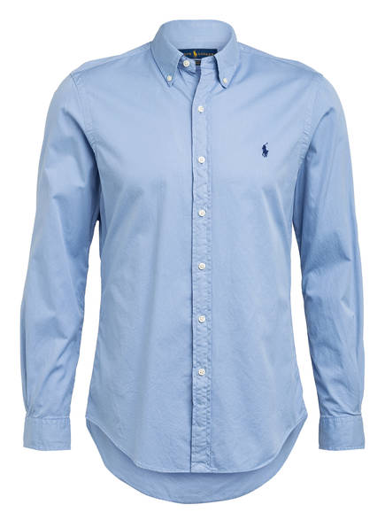 POLO RALPH LAUREN Hemd Slim Fit, Farbe: HELLBLAU (Bild 1)