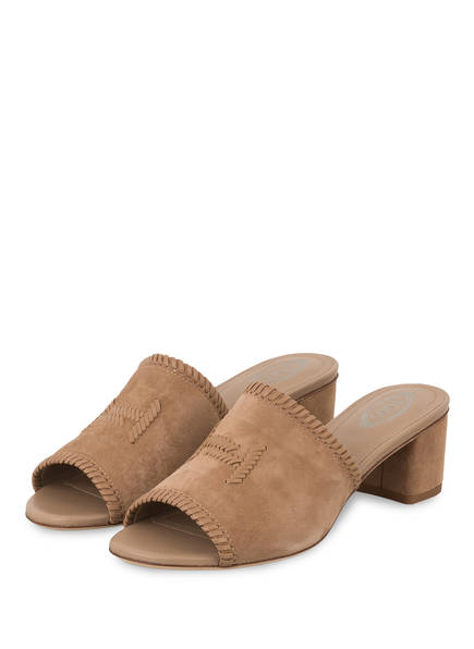 TOD'S Mules, Farbe: TAUPE (Bild 1)