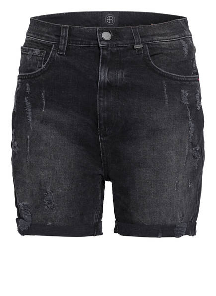 ER ELIAS RUMELIS Jeans-Shorts ROBYN, Farbe: 374 CHARCOAL BLACK (Bild 1)