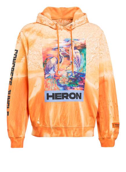 HERON PRESTON Hoodie, Farbe: ORANGE (Bild 1)