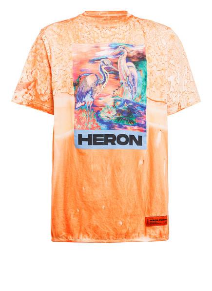 HERON PRESTON Oversized-Shirt, Farbe: ORANGE (Bild 1)
