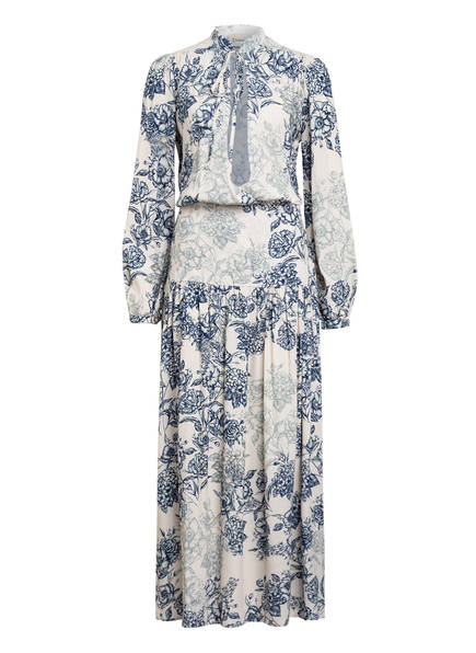 Dixie Kleid, Farbe: WEISS/ BLAU (Bild 1)