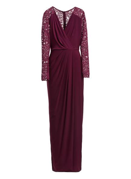 Phase Eight Abendkleid ELANOR mit Spitzenbesatz , Farbe: DUNKELROT (Bild 1)