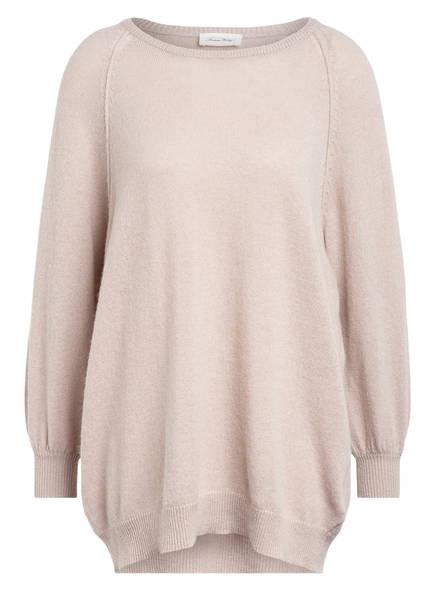 American Vintage Oversized-Pullover mit Cashmere, Farbe: BEIGE (Bild 1)