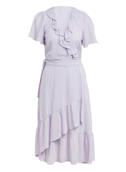 MICHAEL KORS Wickelkleid mit Volants, Farbe: HELLLILA (Bild 1)